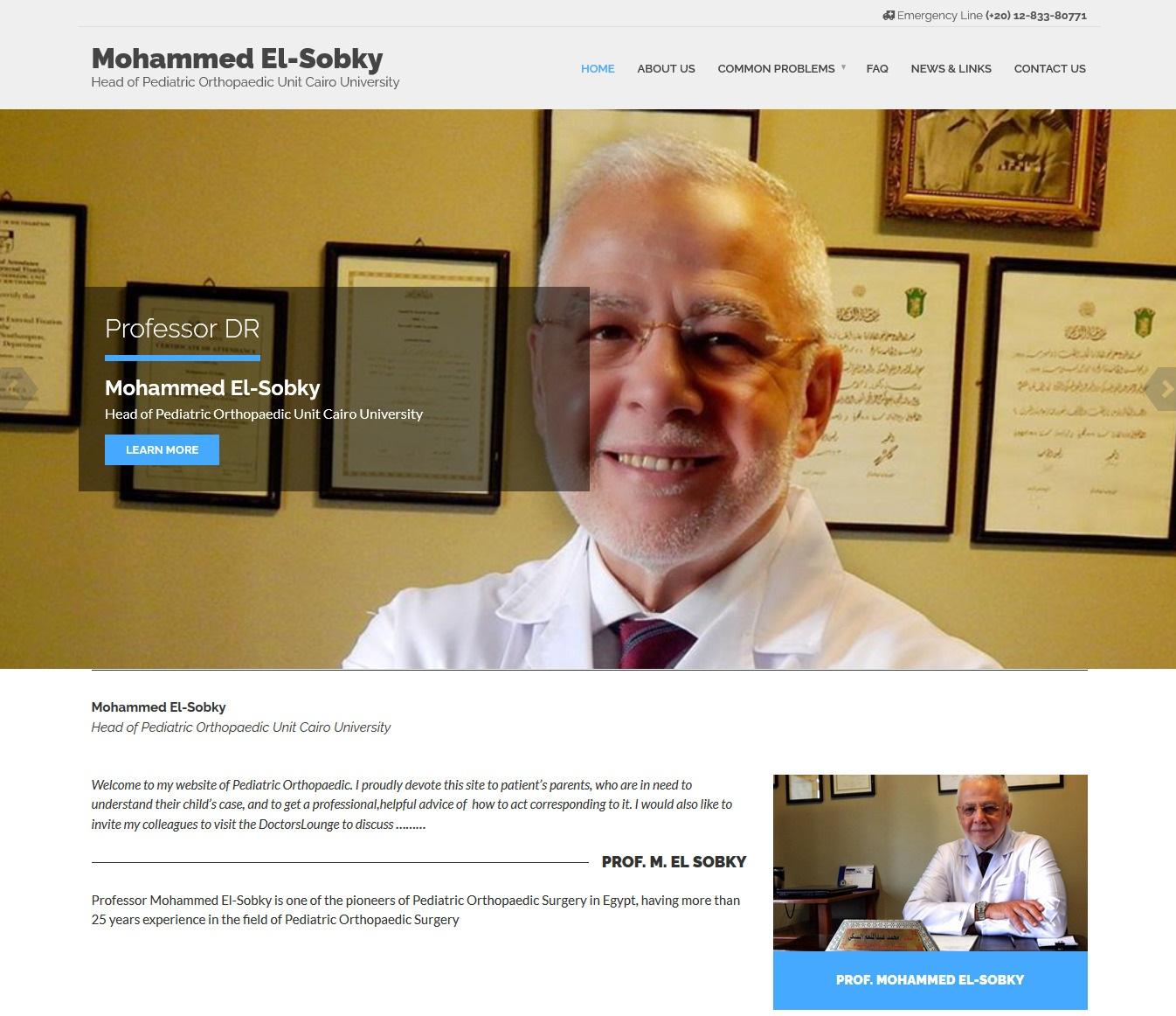DR Mohamed ElSobky