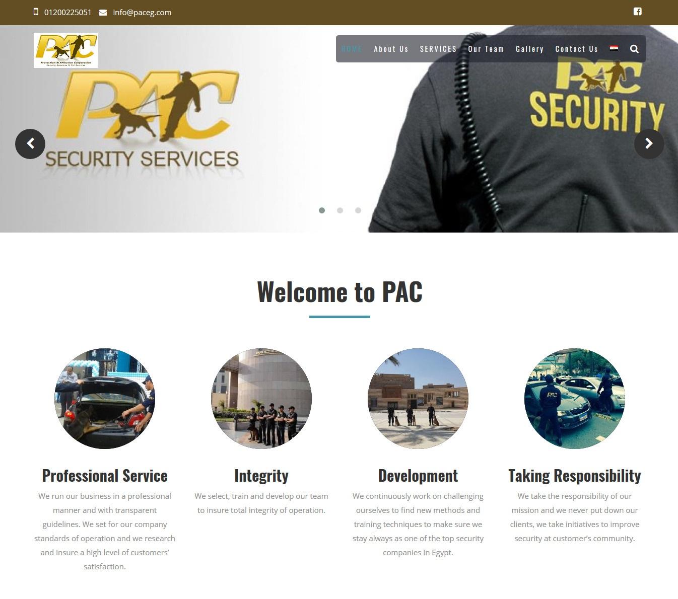 PAC Pet services